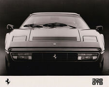 Ferrari 328 GTB Press Photograph B&W