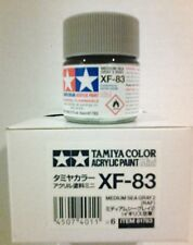 Tamiya acrylic paint XF-83 Medium Sea Grey 2 (RAF) 10ml Mini.