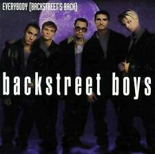 Everybody [Single] by Backstreet Boys (Enhanced CD, Mar-1998, Zomba (USA))
