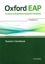 Oxford EAP ADVANCED C1 Teacher's Book with DVD-ROM Academic English @NEW@