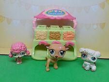 littlest pet shop dog lot, treat center