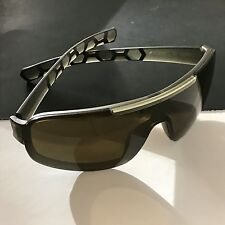 Porsche Design Eyewear P8528-C-0135 Brown Mirror Shields Men's Sunglasses NWT