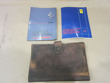Ferrari Mondial QV 1983 Owners Manual With Leather Pouch/Case.