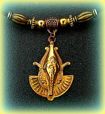 EGYPTIAN Pendant Necklace ART DECO Vintage Style Egyptian PHARAOH Jewelry
