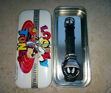 Vintage Marvin The Martian Watch Stainless Quartz 1997 Armitron with Case