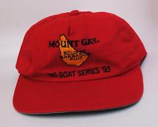 "Rare Vintage ""MOUNT GAY ECLIPSE BARBADOS RUM"" ""BIG BOAT SERIES '93"" Baseball Cap"