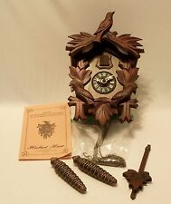 Hubert Herr Triberg Germany  Cuckoo clock  Black Forest - Nice