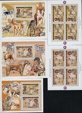 Guinea MNH 2007-44 Value 69 Euro  Dogs