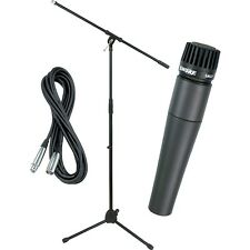 Shure SM57 Mic with Cable & Stand