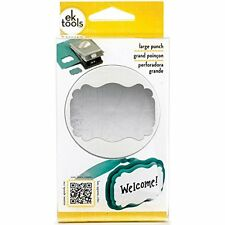 EK Success Tools Real Estate Sign Punch for Card Embellishment, Large , New, Fre
