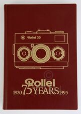 ROLLEI 35 BOOK ROLLEI 75 YEARS (1920 - 1995)  LIMITED EDITION!!!