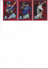 2014 Topps Update Red Hot Foil Jose Molina Tampa Bay Rays # US 6