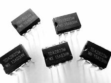 5pcs - TDA2822M 1W Low Voltage Stereo  Audio Power Dual Amplifier IC Dip-8 - 5x