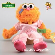 2016 Sesame Street Plush Gril Zoe Hand Puppet Play Games Doll Soft Toy Puppets