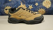 VINTAGE 1990S MENS NIKE ACG LOW TOP NUBUCK LEATHER HIKING SHOES / BOOTS SZ 8 VCG