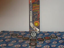 Hockey Collectibles-Mini Stick,Trivia Coasters, Hockey Puck