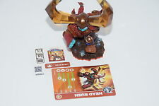Skylanders Trap Team HEAD RUSH Loose Figure with Card and Sticker / Code