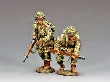 "KING & COUNTRY DD288-1 WWII D-DAY  ""U.S. 82nd PARATROOPERS MOVING FORWARD..."""