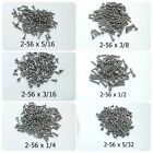HO Parts Miniature Screws 2-56 For Replace HO scale Freight Car Truck 300 Screws