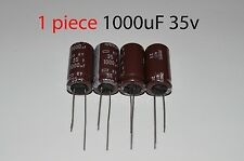 Capacitor Nippon 1000uF 35v 105C 12.5x25mm. Radial. US Seller