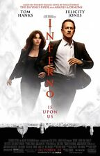 Inferno - original DS movie poster - D/S 27x40 Tom Hanks FINAL