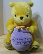 Very Rare Limited Edition Winnie the Pooh 80th Anniversary Stuffed Plush Bear