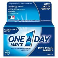 2 Pack - One-A-Day Men's Health Formula Tablets 100 Tablets Each