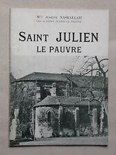 Saint Julien le Pauvre - Mgr Joseph Nasrallah - Sadag, Nouvelle éditions latines