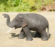 Wooden Elephant Carving Fine Quality Golden Teak