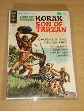 KORAK SON OF TARZAN #18 FN (6.0) EDGAR RICE GOLD KEY COMICS AUGUST 1967 COVER B