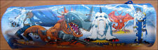 Digimon Adventure Angemon Anime ROUND School Pencil Case Pouch Bag Double Sided