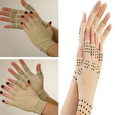 Fingerless Magnetic Joint Gloves Hand Support Pain Relief Arthritis Compression
