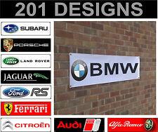 ford honda hyundai isuzu jaguar banner sign workshop garage track advertisement
