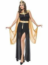 Fever Queen of the Nile Egyptian Costume, Cleopatra, UK Size 16-18, Fancy Dress