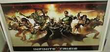 INFINITE CRISIS MARVEL POSTER COLLECTABLE LIMITED RUN US DC COMIC BATMAN GREEN