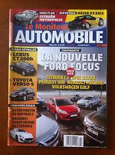Le moniteur Automobile 30/03/2011; Lexus CT 200h/ Toyota Verso-S/ Métropolis