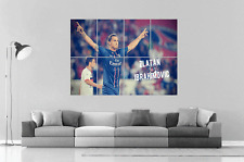 Zlatan IBRAHIMOVIC  Wall Art Poster Grand format A0 Large Print