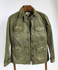 *NEW* $298+ Current Elliott Nordstrom Olive Green Commander Jacket size small