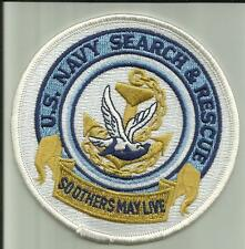 US.NAVY SEARCH & RESCUE PATCH HELO MEDIC SAILOR MILITARY HELICOPTER CORPMAN USA-