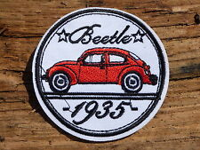 ECUSSON PATCH toppa aufnaher THERMOCOLLANT BEETLE coccinelle cocs volkswagen vw