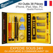 KIT OUTILS TOURNEVIS IPHONE 4 5 6 IPAD GALAXY LUMIA REPARATION TELEPHONE -38 PCS