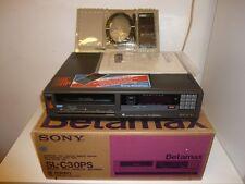 Sony SL-C30PS Betamax Recorder, OVP&NEU, generalüberholt, RARITÄT, 2J. Garantie