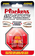 PLACKERS Dental Night Protector STOP GRINDING Hygienic Guard UPPER/LOWER TEETH