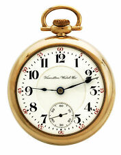 23-Jewel 18-Size Hamilton 946 Railroad Pocket Watch CA1905