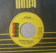 Esther Phillips – For All We Know / Fever  (VG+)