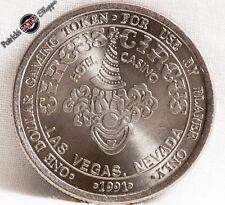 $1 SLOT TOKEN COIN CIRCUS CIRCUS HOTEL CASINO 1991 NCM MINT LAS VEGAS NEVADA
