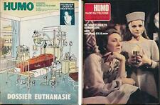 HUMO 1834 (30/10/75) DUSTIN HOFFMAN CATHERINE ROUVEL SPRINGSTEEN FOGERTY THE WHO