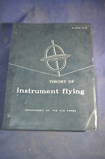 1954 *NEAR MINT* AirForce Theory of Instrument Flying Manual
