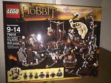 Lego Hobbit: The Goblin King Battle 79010 New Sealed Retired Set