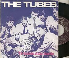 "THE TUBES 7"" SPAIN 45 TALK TO YOU LATER + WHAT´S WRONG 1981 Promo POWER POP ROCK"